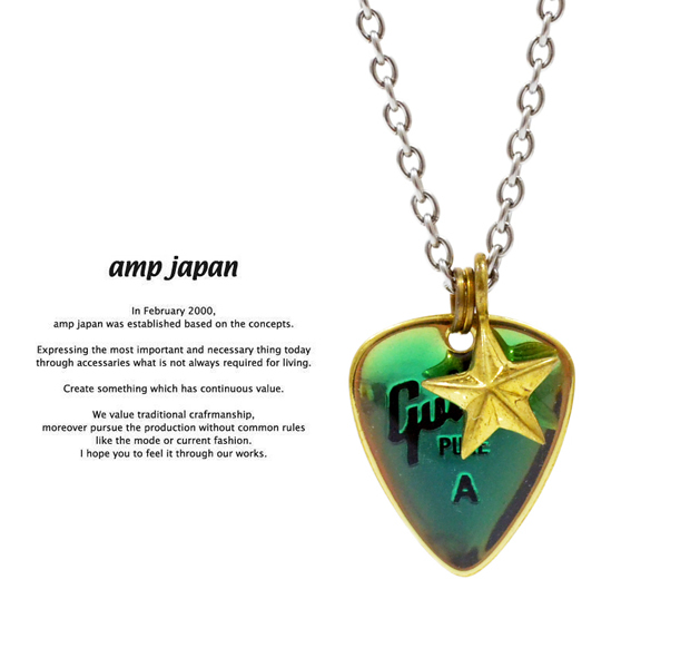 amp japan  11ad-826 color pick necklace/Blue