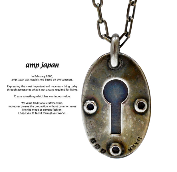 "amp japan 7ak-183 keyhole-C ""plate"""