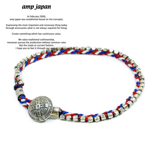 amp japan  12ah-112 stiched seed beads bracelet