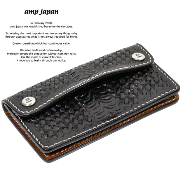 amp japan 14AH-800 Leather Wallet