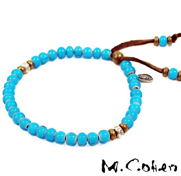 M.Cohen B700/Turquoise Antique Beads Bracelet