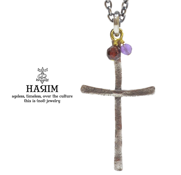 HARIM HRP093 FINE CROSS NECKLACE