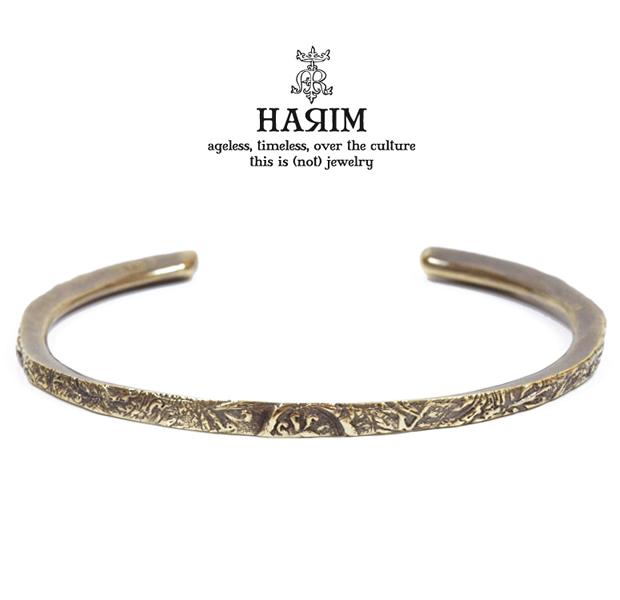 HARIM HRA040/BR ARABESQUE BANGLE