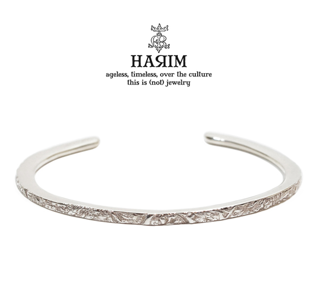 HARIM HLA006/SV arabesque bangle very narrow