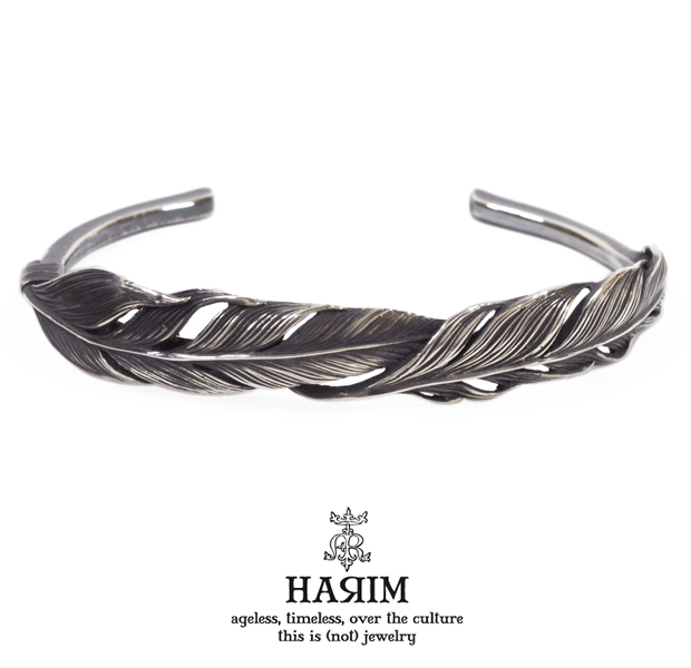 HARIM HRA034SV double feather bangle SV