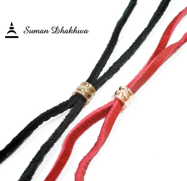 Suman Dhakhwa SD-C09 MOKUME Beads Deerskin Code