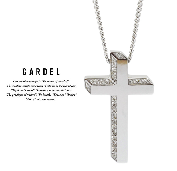GARDEL gdp094 LUCE CROSS NECKLACE