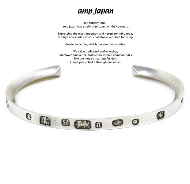 amp japan 14ah-310 hallmark bangle