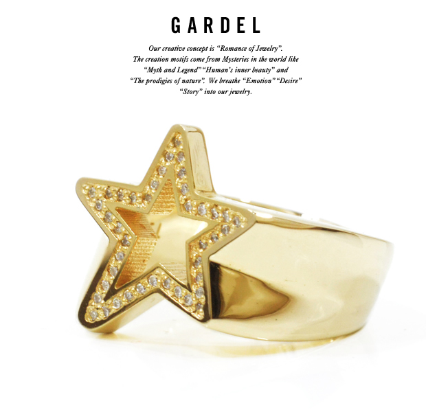 GARDEL gdr068 VIVID STAR RING