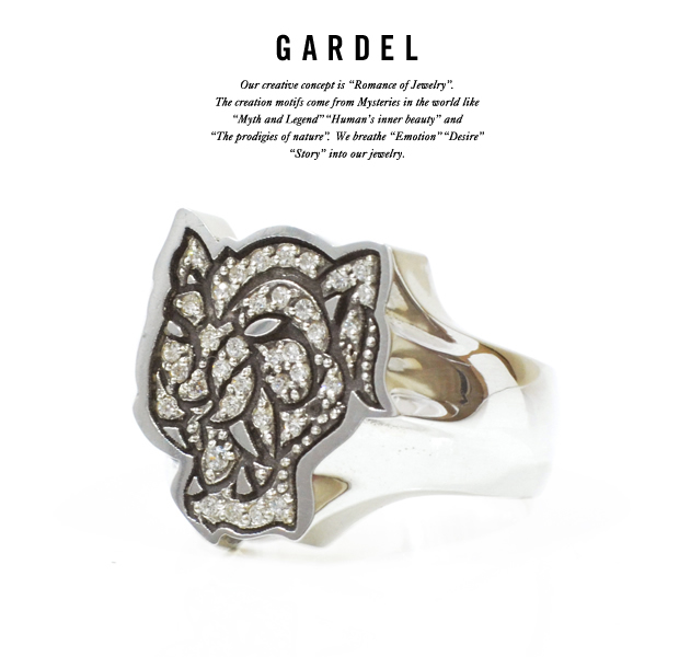 GARDEL gdr071 W,TIGER RING