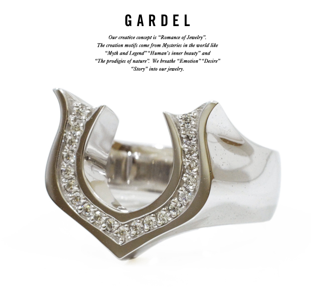 GARDEL gdr069 NEO CLASSIC HORSE SHOE RING