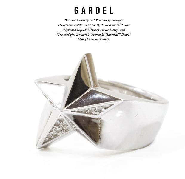 GARDEL gdr066 SPARKLING STAR RING