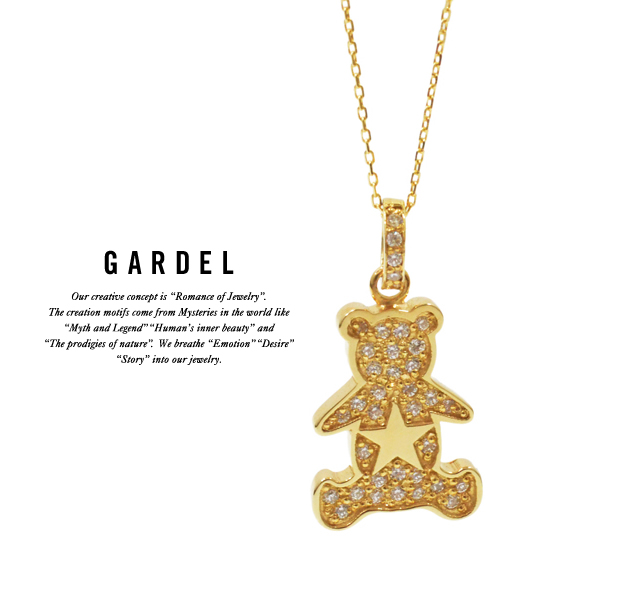 GARDEL gdp096 MILY BEAR NECKLACE