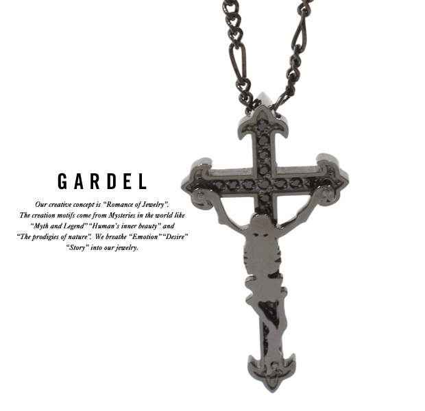 GARDEL gdp097 M,S NECKLACE BK