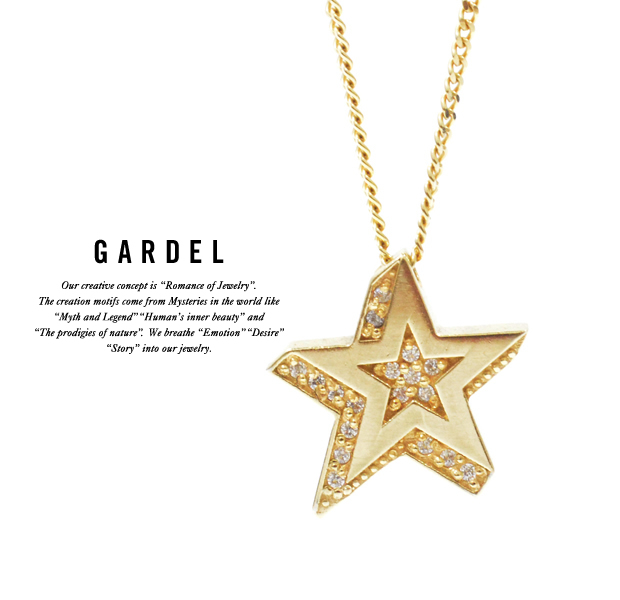 GARDEL gdp095 STAR RIGHT NECKLACE