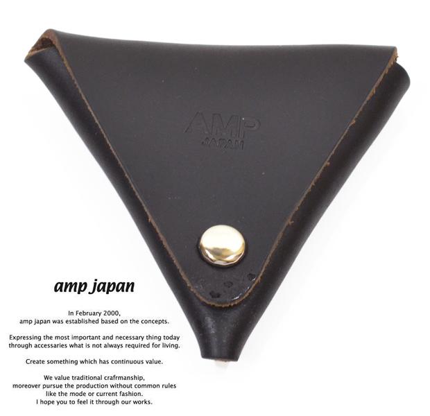 amp japan 14an-810 chromexcel coin purse