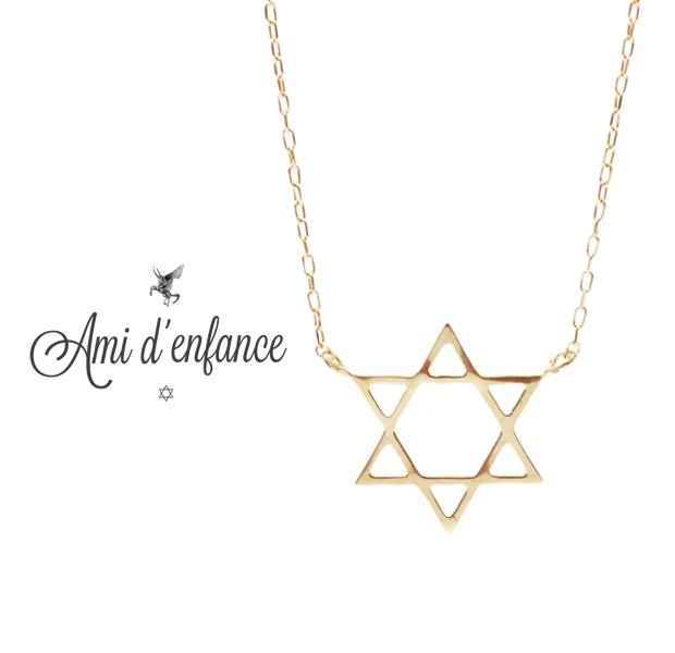"Ami d'enfance AA1001-140009 ""Cius star"" Necklace"