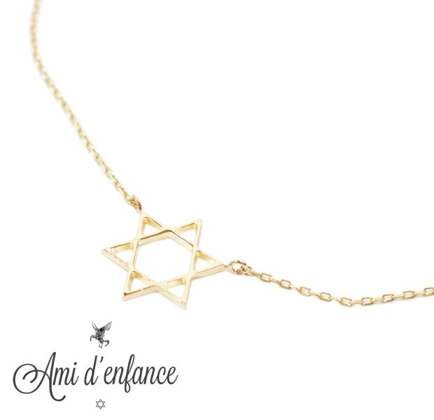 "Ami d'enfance AA1001-140010 ""Cius star"" Bracelet"