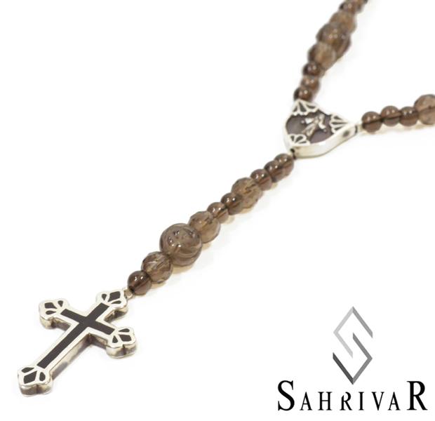 SAHRIVAR sn56s14s Filled Cross Rosary