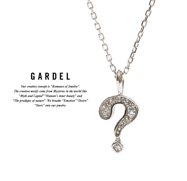 GARDEL gdp073 NATURAL QUESTION NECKLACE
