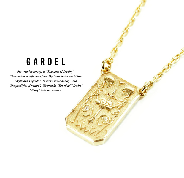 GARDEL gdp083 K18YG ETICA NECKLACE