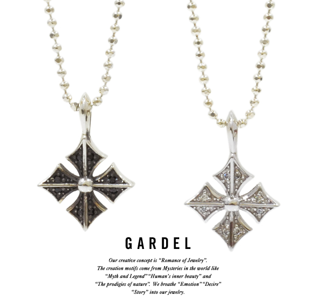 GARDEL gdp080 SMALL CLASSIC CROSS NECKLACE