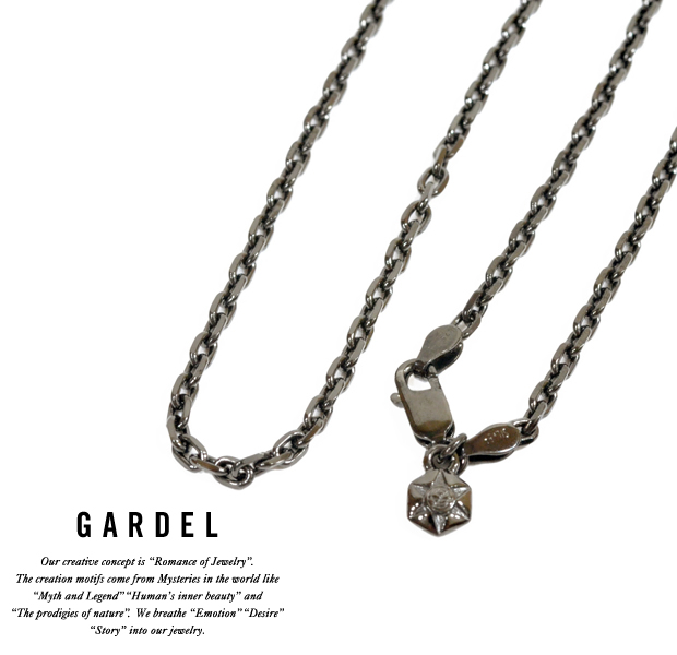 GARDEL Square chain 0.8 50cm Black