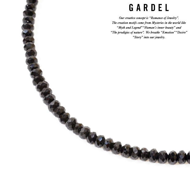 GARDEL B.SP Necklace 50cm Black