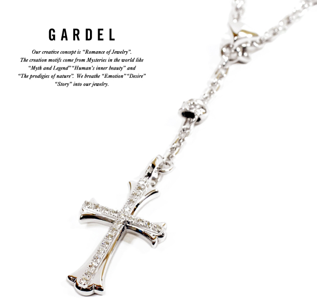 GARDEL gdp088 SPLENDID ROSARY NECKLACE