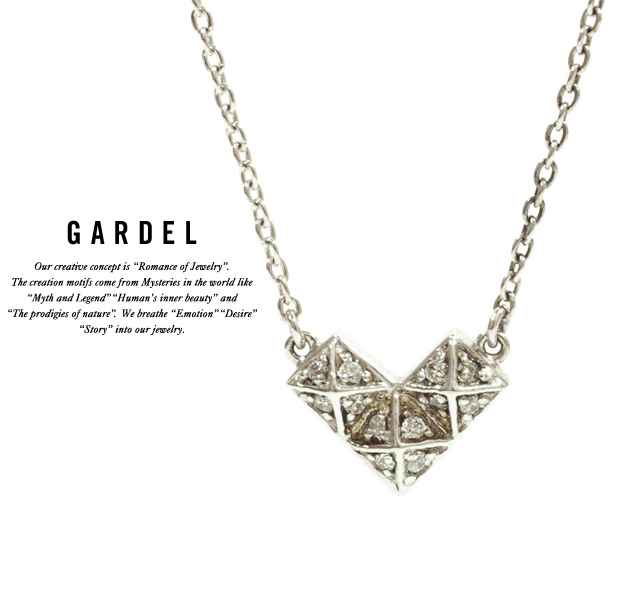 GARDEL gdp037 BROCK HEART pendant