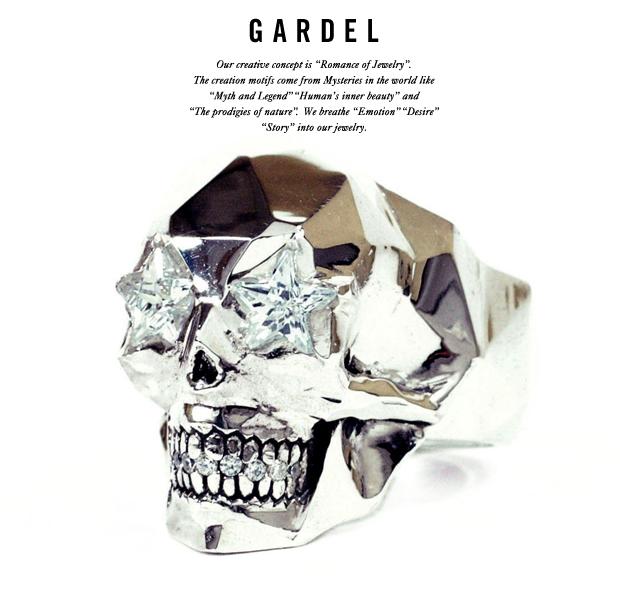 GARDEL gdr055 HENDRIC SKULL RING