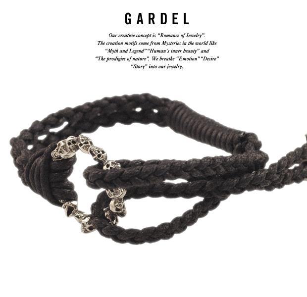 GARDEL gdb028 ETERNAL SKULL BRACELET