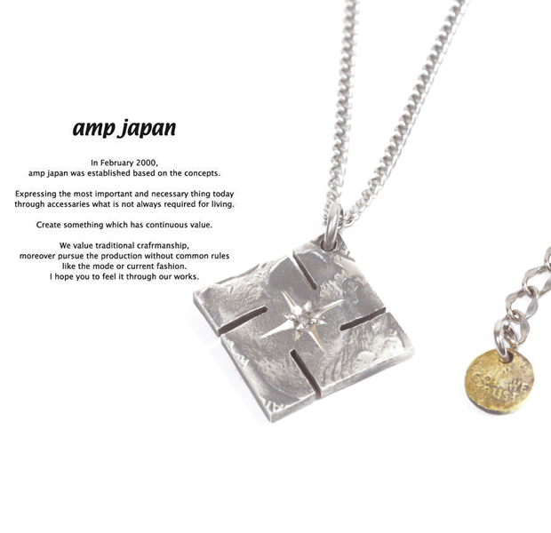 amp japan 13aa-106 swastika native american coin necklace -diamond-