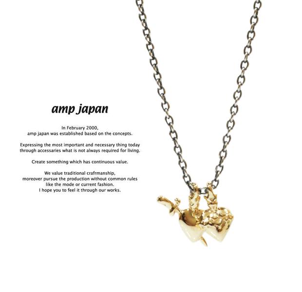 amp japan  11ah-813 heart necklace