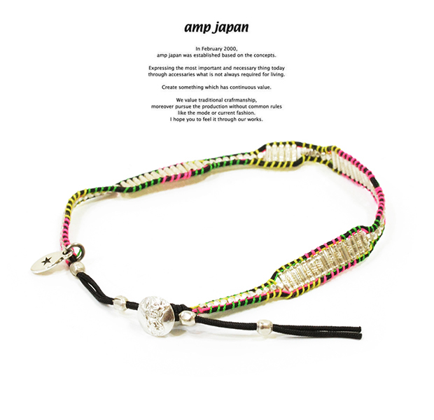 amp japan 14ah-450 crazy wrap bracelet