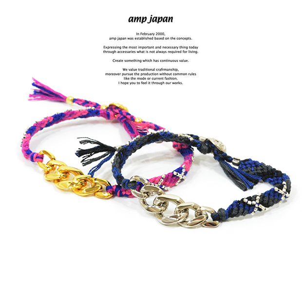 amp japan 14ah-460 good luck bracelet