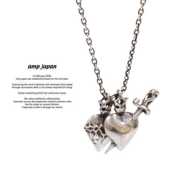 amp japan  11ah-817 heart necklace