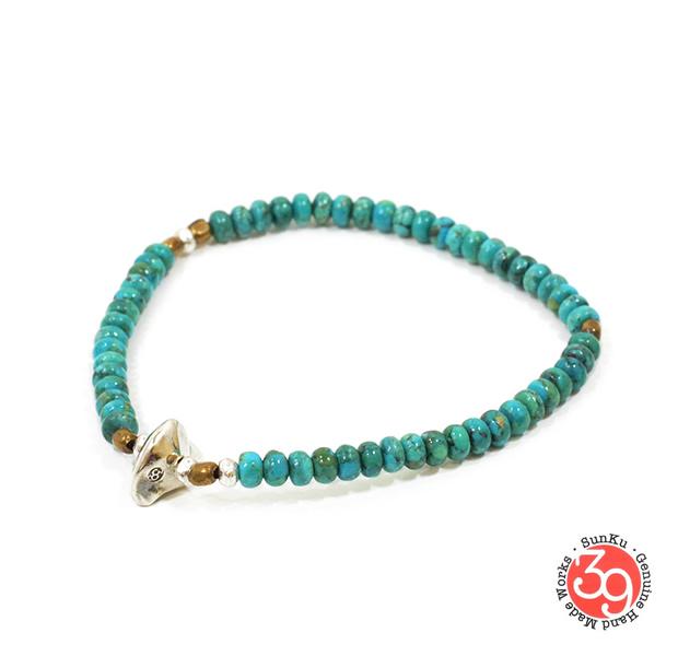 Sunku SK-007 Turquoise Beads Bracelet(S Beads)