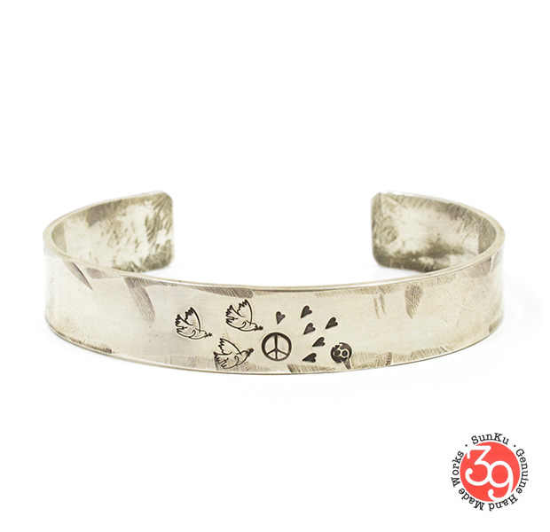 Sunku SK-019 Love & Peace Bangle