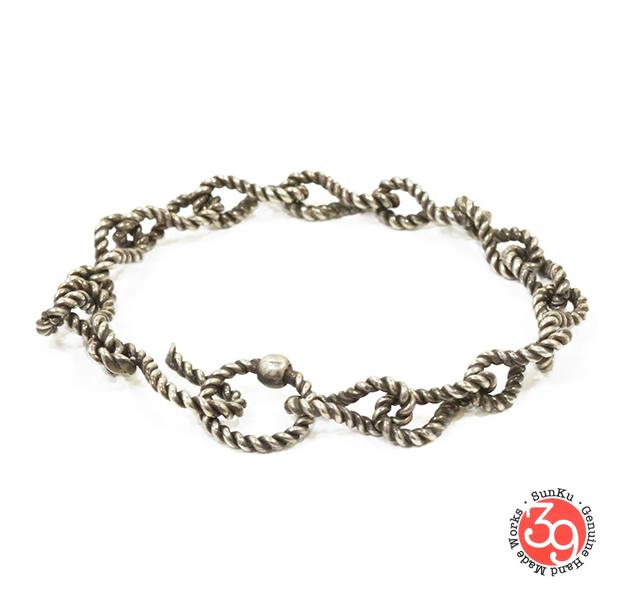 Sunku SK-063 Handmade Twisted Chain Bracelet