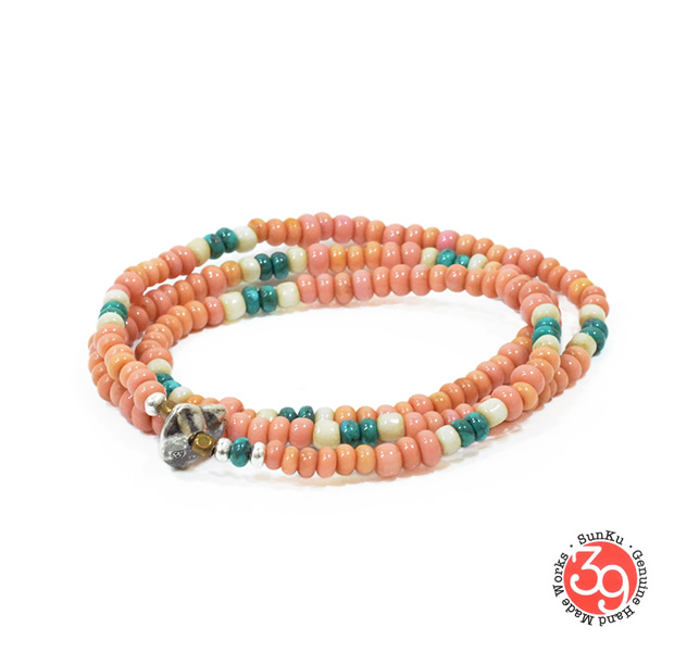 Sunku SK-090 Antique Beads Mix Necklace & Bracelet