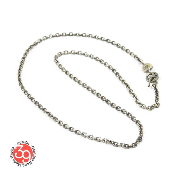 Sunku SK-091 Oval Silver Chain(S)
