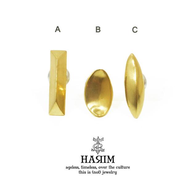 HARIM HRA043 SG three wiseman pierce 2set