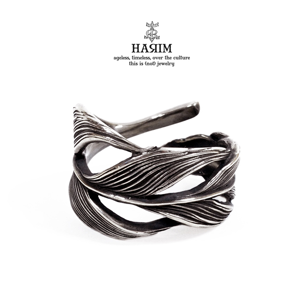 HARIM HRR015 Owl feather ring