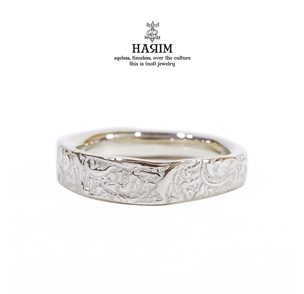 HARIM HRR010SV arabesqu single ring