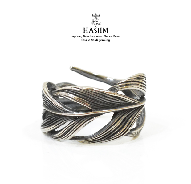HARIM HRR015M Owl Feather ring