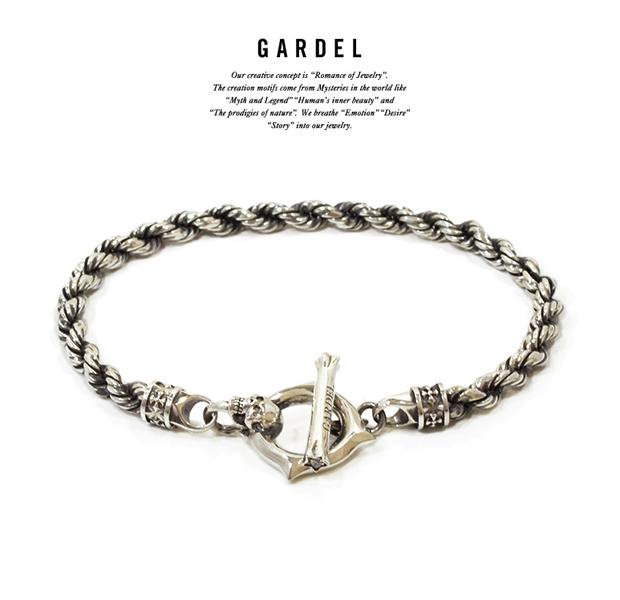 GARDEL gdb064 WEAVING SKULL BRACELET