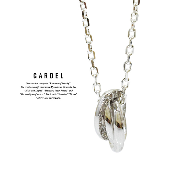 GARDEL gdp106 TRES LINE NECKLACE