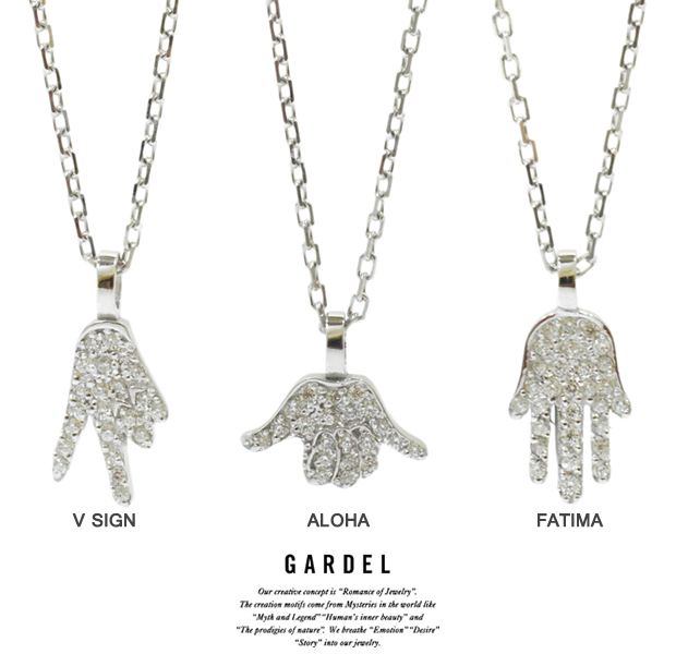 GARDEL gdp109 HAND AMULET NECKLACE