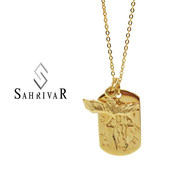 SAHRIVAR sn63b14a Dove on Maria Necklace